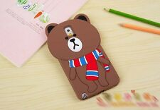 Cute Sweet Bear 3D Soft Silicone Cover Case for Samsung Galaxy Note 3 N9000