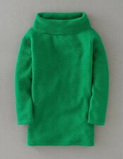 Boden Women's Brand New Audrey Jumper Sapling Green Textured Wool Blend Retro