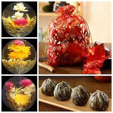China Artistic Blooming Flower Green Tea Ball Beautiful Special Enjoy Wholesale
