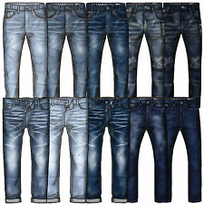 Mens Jeans Jack South Chinos Cotton Pants Cargo Combat Straight Leg Casual New