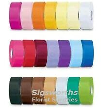"""5m x 2"""" FLORISTS POLY RIBBON Flowers Bouquets Hampers Gifts 50mm x 5 metres"""