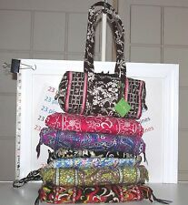 VERA BRADLEY CHOICE OF PATTERN CLASSIC DISCONTINUED OLD STYLE HANDBAG TOTE  NWT