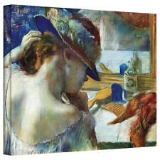 Edgar Degas 'In Front of the Mirror' Gallery-Wrapped Canvas Art