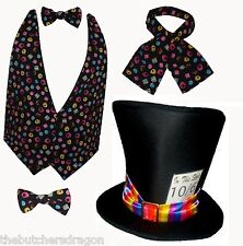 Mad Hatter Liquorice Allsorts Costume Fancy Dress UK Made Book Week