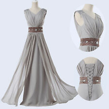 New Long Party Gown Prom Ball Evening cocktail Pageant Bridal Wedding Dress
