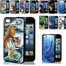 204 HOT SALE 3D Vivid Multiple Animal Hard PC Cases Covers For Apple iPhone 4/4S