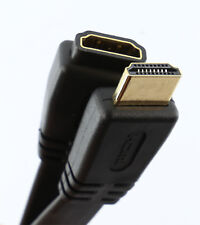 FLAT HDMI EXTENSION Cable Male - Female v1.4 HD 4K 3D ARC High Speed + Ethernet