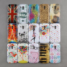 Chic Cute Pattern Skin Back Case Cover for Samsung Galaxy Trend Duos S7562 S7560