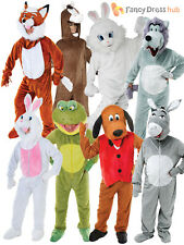 Animal Onesie Adult Fancy Dress Book Week Characters Mens Mascot Costume Outfit