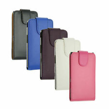 New Magnetic Leather Flip Case Pouch Brand New Cover For Blackberry Models