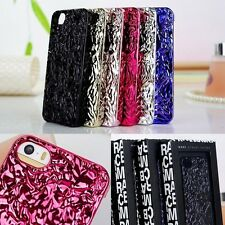 2014 NEW 3D Tinfoil Pattern Marc By Marc Jacobs Case Cover for iPhone 4 4S 5S 5C