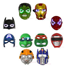 Halloween Super Hero Avenger LED LIGHT UP MASK Party Costume Cosplay Child Toy