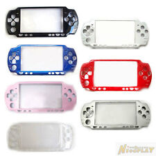 New Front Faceplate Shell Case Cover Replacement For Sony PSP 2000 2001 2003