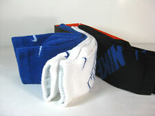 NIKE MENS 3 PACK DRI-FIT CREW SOCKS Royal,White,Black -SX4689 944- Choose size
