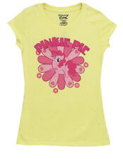 Daisy Pinkie Pie My Little Pony Mighty Fine Babydoll Juniors T-Shirt Tee