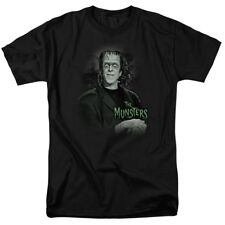 The Munsters Herman Munster Man Of The House NBC TV Show T-Shirt Tee
