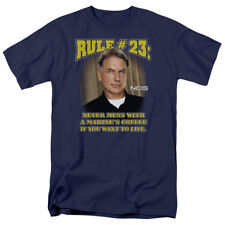 NCIS Naval Criminal Investigative Service Gibbs Rule 23 TV Show T-Shirt Tee
