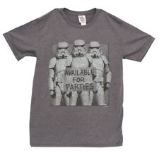 Star Wars Storm Troopers Party Vintage Style Junk Food Adult T-Shirt Tee