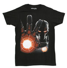 Iron Man Red Heat Marvel Comics Mighty Fine Adult Superhero T-Shirt Tee