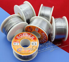 63/37 Tin/lead Rosin Core 0.5-2mm 2% Flux Reel Welding line 11G/100G Solder Wire