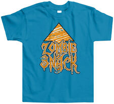 Zombie Snack Toddler T-Shirt Tee Pop Culture Funny Dead Walking Eat Brains