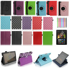 "Magnetic Leather Smart Case Cover  for All Amazon Kindle Fire HD HDX 7"" inch 7"""