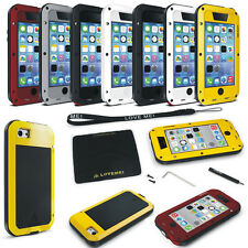 Waterproof Shockproof Gorilla Glass Metal Case Cover For Various Mobile Phones