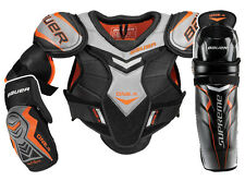 Bauer Supreme One.4 Ice Hockey Shoulder, Shin & Elbow Pads Combo - Senior