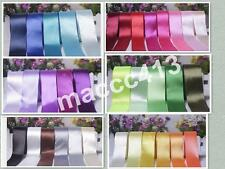 Wholesale 38mm(1 1/2'') Single Sided Satin Ribbon Solid Color Wedding craft Bows