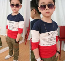 New NAME Baby boys clothes outside cotton bottoming t-shirt ree shipping