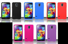 2 x SILICONE SKIN Phone Cover CASE OF YOUR CHOICE For Samsung Galaxy S5