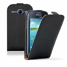 ULTRA SLIM Leather Flip Case Cover Pouch for Samsung Galaxy Core Duos GT-i8262