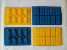 Building Brick Silicone Mould Sugarcraft Chocolate Robot mould Superfast delive