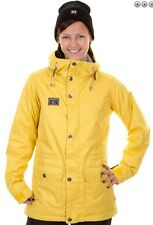 2014 NWT WOMENS BURTON EASTON SNOWBOARD JACKET $230 citronella yellow dryride