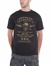 Avenged Sevenfold Seize The Day Official Mens New Black T Shirt All Sizes