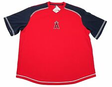 Los Angeles Angels Shirt Men's Pullover Treasured Baseball Jersey Red Anaheim