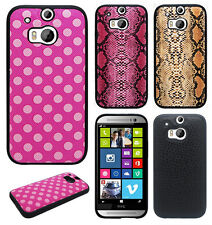 For HTC One M8 TPU CANDY Gel Flexi Skin Case Cover Accessory