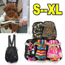 New Cotton Canvas Pet Dog Puppy Carrier Front Net Legs Out Backpack Bag S M L XL