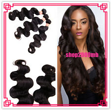 100g/pc 100% 6A unprocessed Remy Virgin Brazilian Human Hair Extension Body Wave