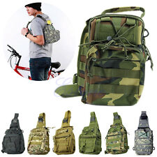 Outdoor Sport Camping Hiking Trekking Bag Military Tactical Shoulder Backpack