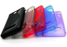 S-Line Soft TPU Silicon Gel Phone Cover Case Skin Back For Nokia Asha 210