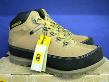 CATERPILLAR MENS RESTORE MID CUT HONEY LACED TREADED BT