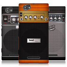 HEAD CASE DESIGNS GUITAR AMP HARD BACK CASE COVER FOR SONY XPERIA M C1905 C1904