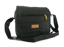 MENS LADIES UNISEX TRAVEL WORK SMALL MESSENGER CANVAS CROSS BODY SHOULDER BAG 42