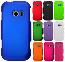 For LG Extravert 2 VN280 Rubberized HARD Protector Case Cover + Screen Protector