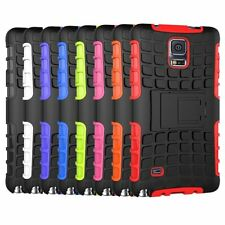 Hard Rubber Case Cover for Samsung Galaxy S5 SV i9600 Heavy Duty Hybrid Rugged