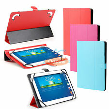 Universal Folding PU Leather Case Cover for Verizon Ellipsis 7 Inch RCA Tablet