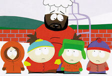 SOUTH PARK - TV SHOW POSTER / PRINT (THE BOYS & CHEF) (SIZE: 40