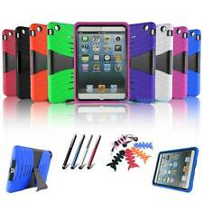 Kids Protective Folding Rubber Rugged Hybrid Stand Hard Case Cover For iPad mini