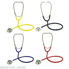 Pro Medical Dual Head EMT Stethoscope Doctor Nurse Vet Medical Student Health